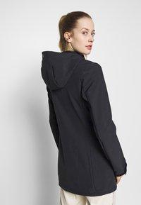 Icepeak - PELION - Soft shell jacket - black melange - 2