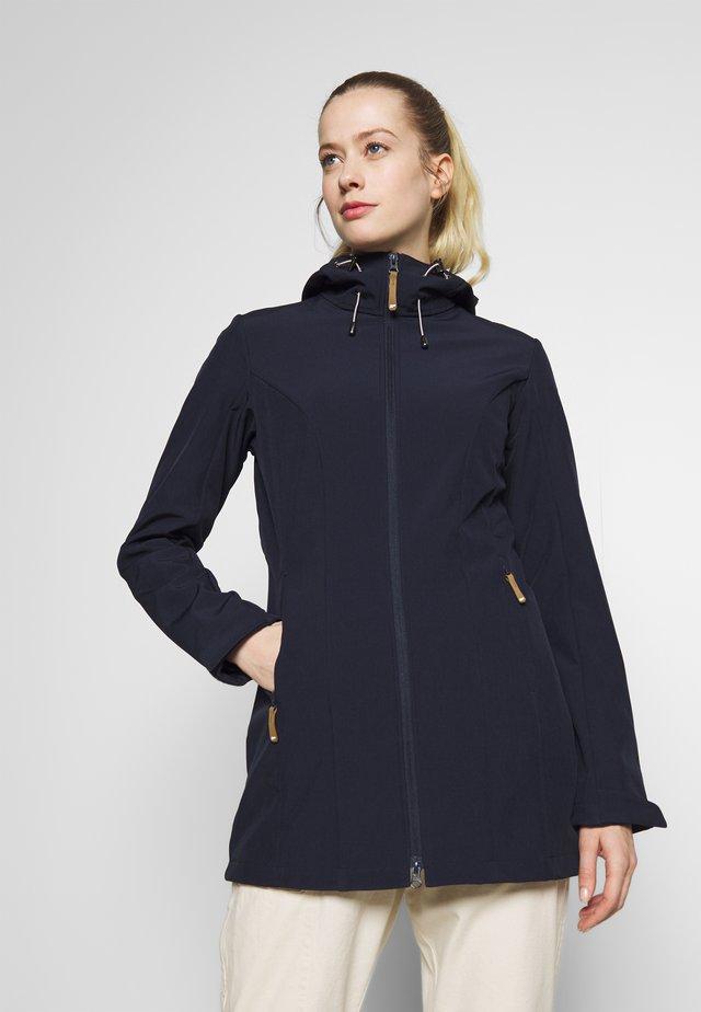 PELION - Softshellová bunda - dunkelblau