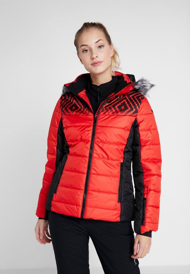 VIGEVANO - Ski jas - coral red