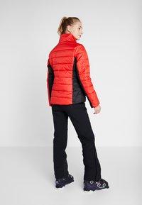 Icepeak - VIGEVANO - Kurtka narciarska - coral red - 4