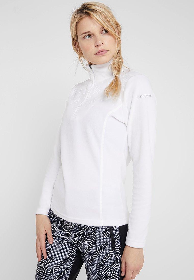 Icepeak - FRIONA - Bluza z polaru - optic white