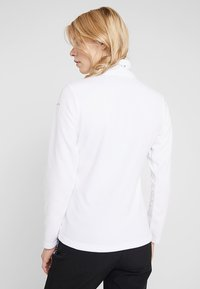 Icepeak - FRIONA - Bluza z polaru - optic white - 2