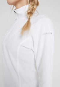 Icepeak - FRIONA - Bluza z polaru - optic white - 5