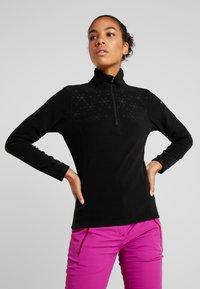 Icepeak - FRIONA - Fleece jumper - black - 0