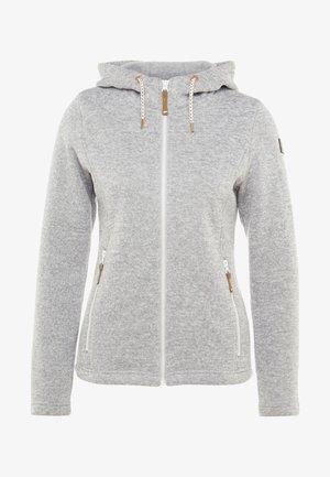 AGEN - Fleecejakke - light grey
