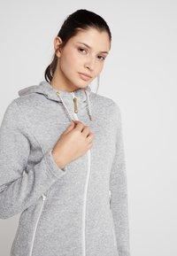 Icepeak - AGEN - Fleece jacket - light grey - 3