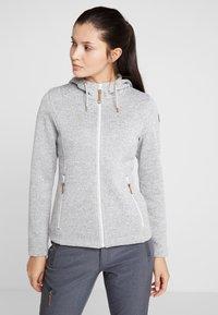 Icepeak - AGEN - Fleece jacket - light grey - 0