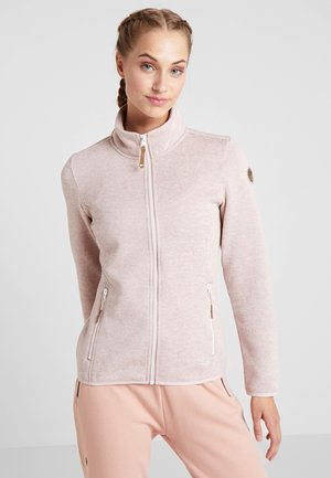 ABBYVILLE - Fleece jacket - baby pink
