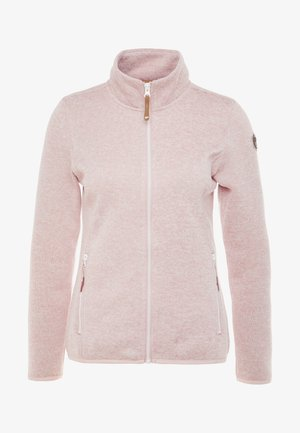 ABBYVILLE - Fleecová bunda - baby pink