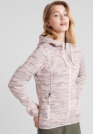 ARLEY - Giacca in pile - baby pink