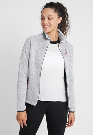 CEDAR - Fleece jacket - light grey