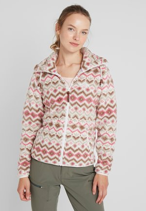 KARMEN - Fleecejacke - natural white
