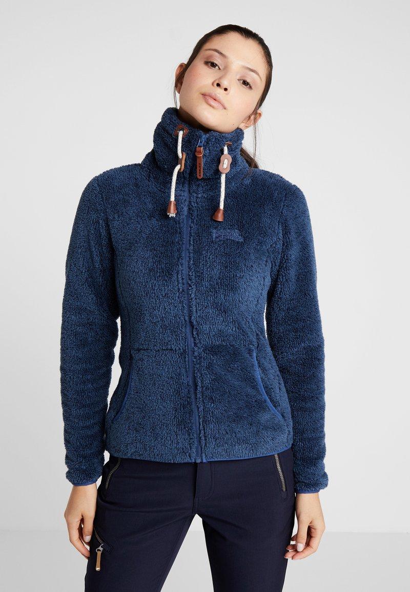 Icepeak - KARMEN - Fleece jacket - navy blue