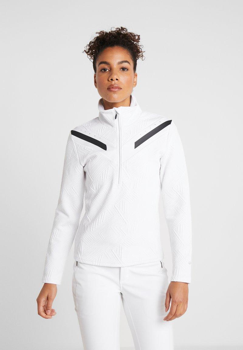 Icepeak - ELSMERE - Sweatshirt - optic white