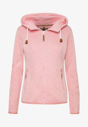 ADRIAN - Kurtka z polaru - pink
