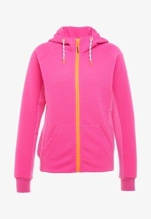 CECILTON - Zip-up hoodie - coral red
