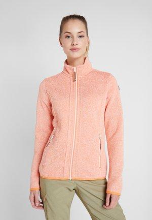 AUTUN - Fleece jacket - apricot