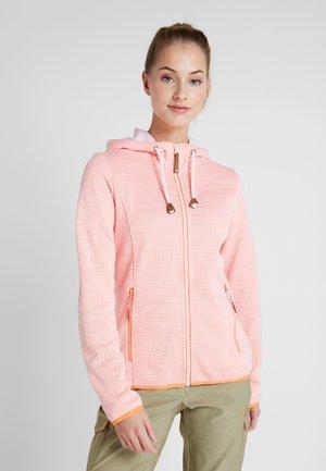 ADMIRE - Zip-up hoodie - abricot