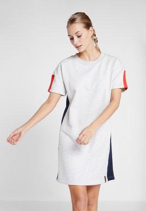 ALZEY - Žerzejové šaty - light grey melange