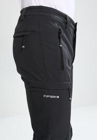 Icepeak - SAULI - Pantalons outdoor - anthracite - 5