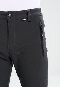 Icepeak - SAULI - Pantalons outdoor - anthracite - 3