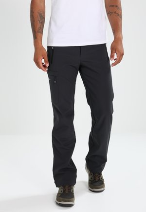 SAULI - Outdoor trousers - anthracite