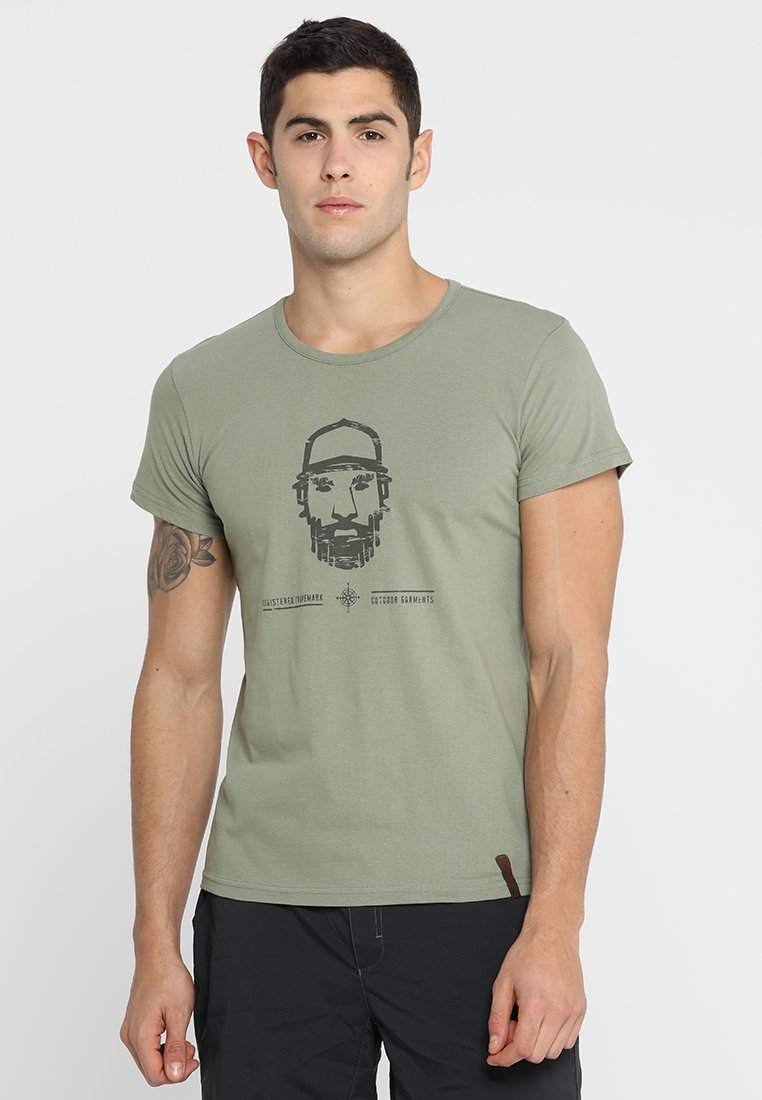 Icepeak - LEIF - T-Shirt print - olive