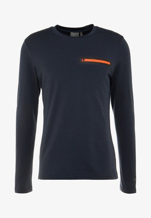 ELKINS - Long sleeved top - navy blue
