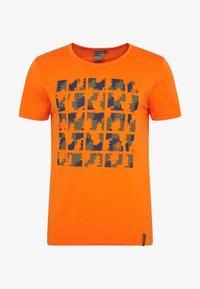Icepeak - AACHEN - T-shirt z nadrukiem - burned orange - 4