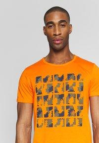 Icepeak - AACHEN - T-shirt z nadrukiem - burned orange - 3