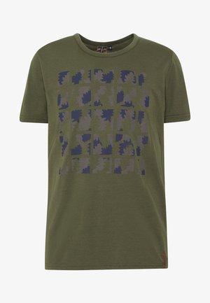 AACHEN - T-shirts print - dark olive