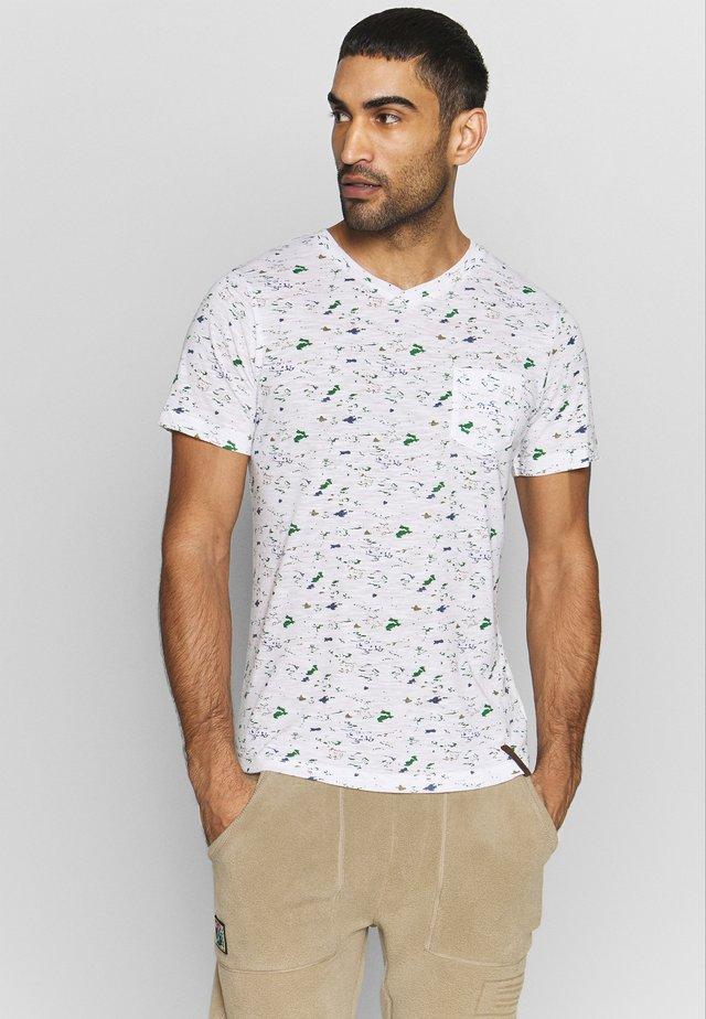 AHAUS - T-Shirt print - optic white