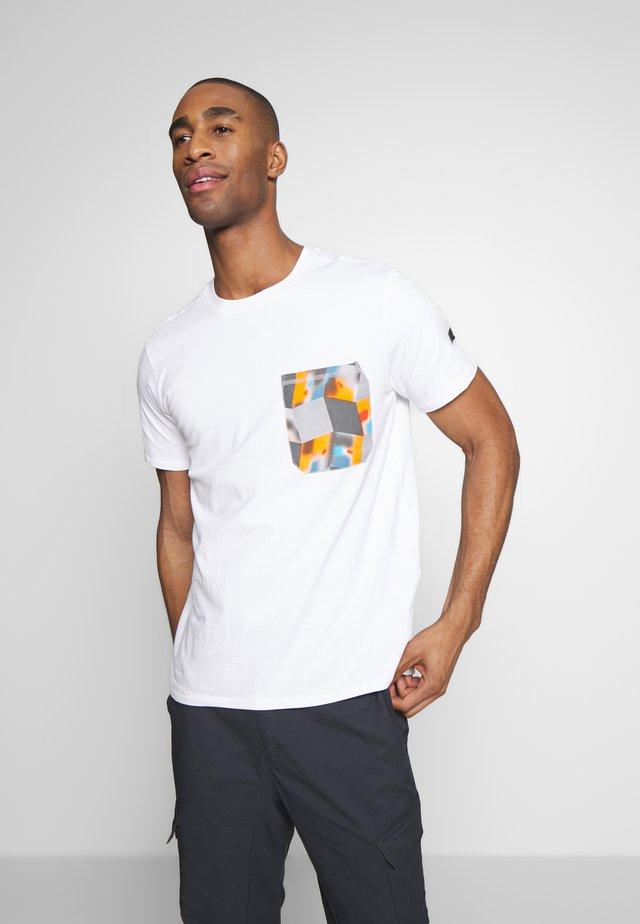 ICEPEAK ELLSTON - Print T-shirt - optic white