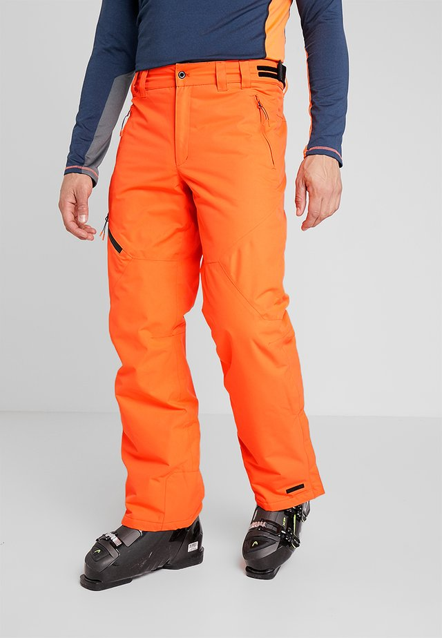 JOHNNY - Pantalon de ski - dark orange