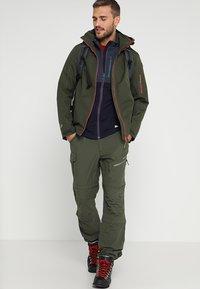 Icepeak - SEIFER 2-IN-1 - Kalhoty - dunkel olivgrün - 1