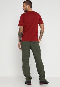 Icepeak - SEIFER 2-IN-1 - Kalhoty - dunkel olivgrün - 2