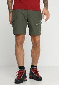 Icepeak - SEIFER 2-IN-1 - Kalhoty - dunkel olivgrün - 4