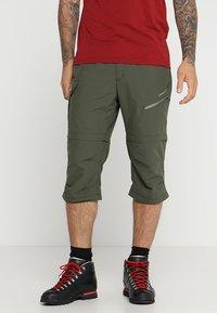 Icepeak - SEIFER 2-IN-1 - Kalhoty - dunkel olivgrün - 3