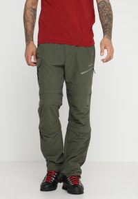 Icepeak - SEIFER 2-IN-1 - Kalhoty - dunkel olivgrün - 0