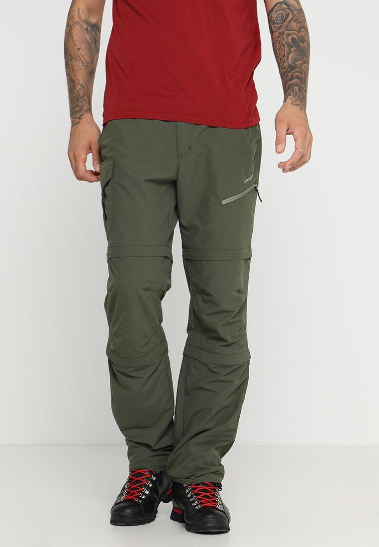 Icepeak - SEIFER 2-IN-1 - Kalhoty - dunkel olivgrün
