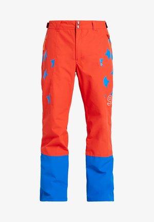 CENTERTON - Spodnie narciarskie - coral red