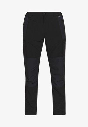 PANGBURG - Kalhoty - black