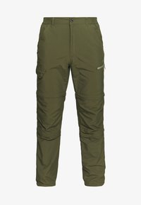 Icepeak - BECKLEY 2-IN-1 - Outdoor trousers - dark olive