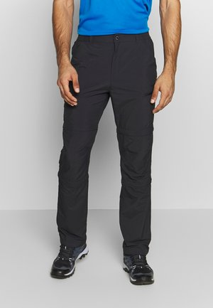 BECKLEY 2-IN-1 - Outdoor trousers - anthracite
