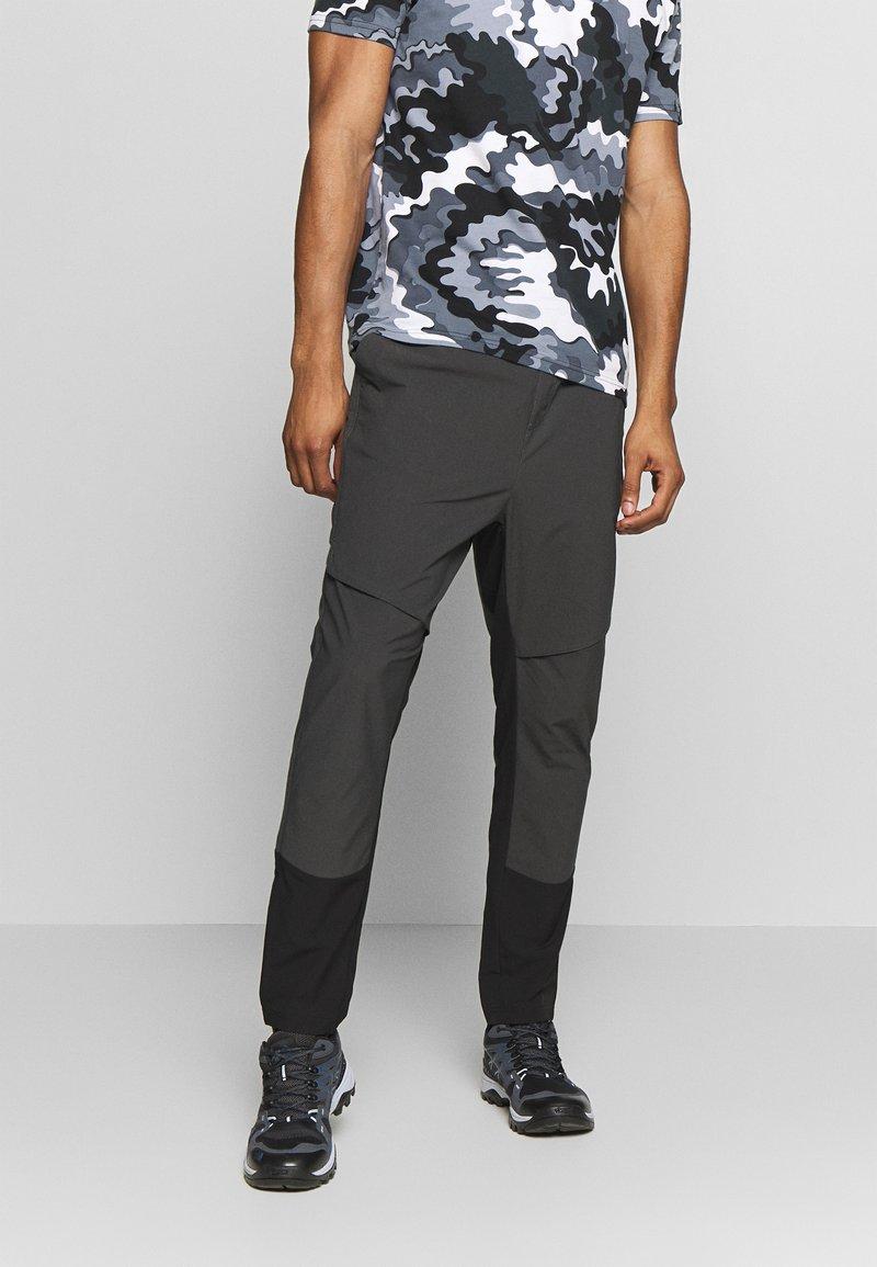Icepeak - ENVILLE - Spodnie materiałowe - lead/grey