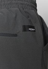 Icepeak - ENVILLE - Spodnie materiałowe - lead/grey - 4