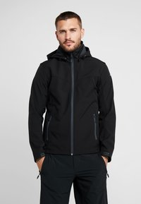 Icepeak - LUKAS - Soft shell jacket - black - 0