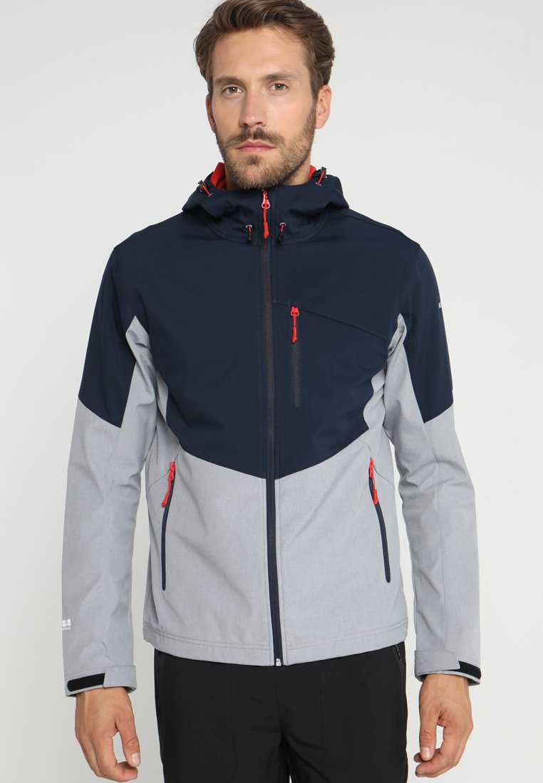 Icepeak - LUKAS - Soft shell jacket - marinenblau