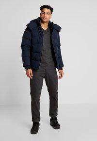 Icepeak - ALBI - Gewatteerde jas - dark blue - 1