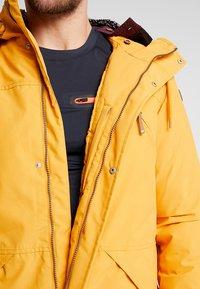 Icepeak - ALORTON - Zimní kabát - yellow - 4